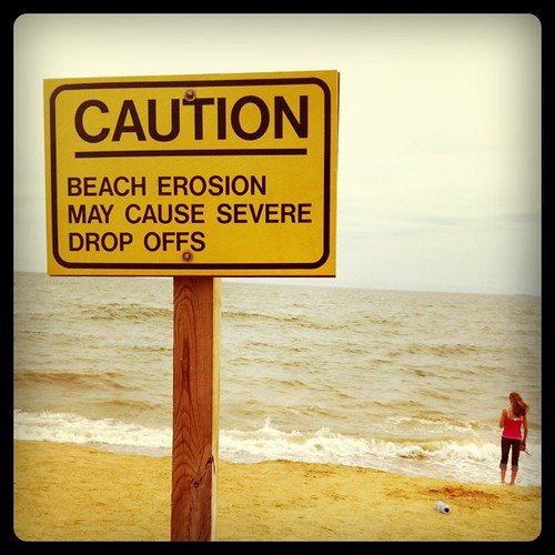 Beach caution