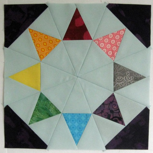 Block 10, Evening Star, Summer Sampler Series