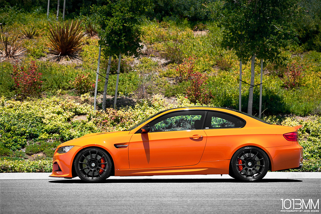 Arkym Fire Orange BMW M3