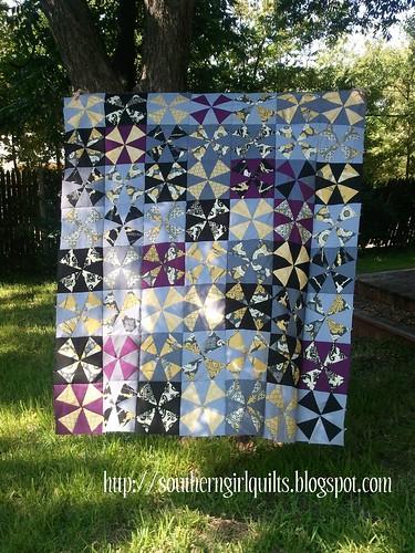 Kaleidoscope Quilt Top