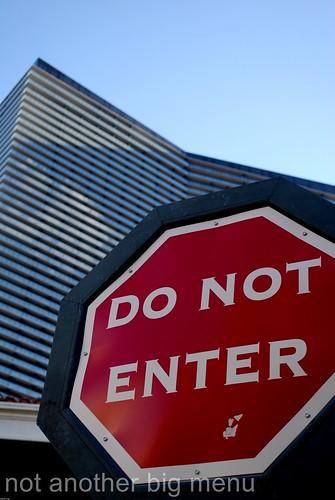 Las Vegas, Nevada - Do Not Enter sign