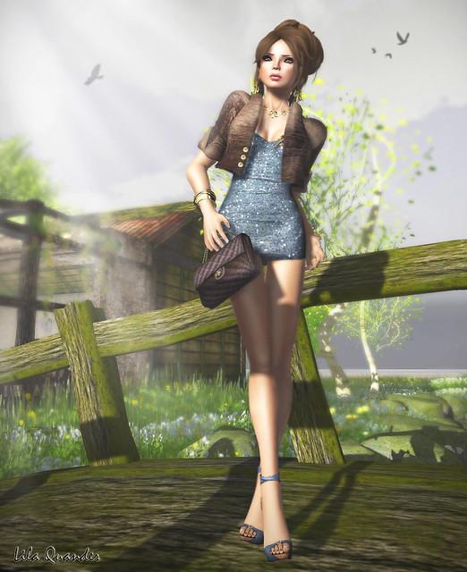 The Sea Hole - Cassia Glitter Mini Dress - cerul & Shag - Thai Me Up - Roots Kitten
