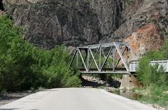 UP bridge Caliente, NV 0508a (DB's travels) Tags: railroad nevada unionpacific caliente july11 lincolncounty tempcrr