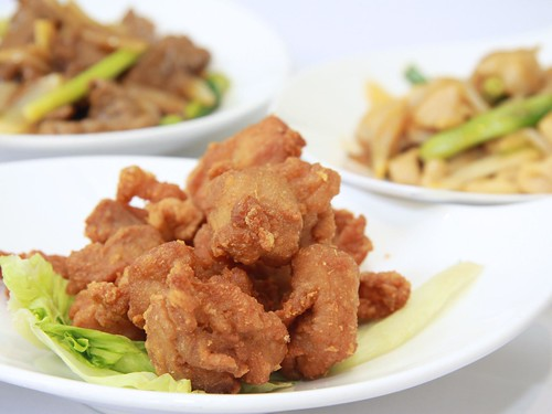 Fried Chicken with Prawn Paste