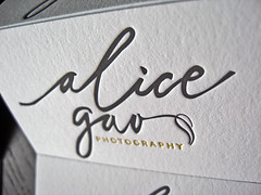 Alica Gao Business Cards