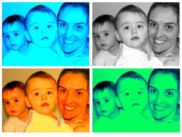 Nós 3 multicolor