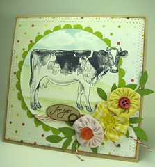 Tiffany Doodles - LOVELY cow!