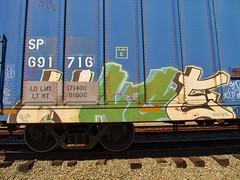 Nace (STRONG RM) Tags: california ca railroad west cars lines car train graffiti golden