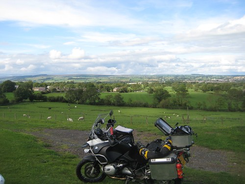 Gallows Hill campsite on the way to Ayr