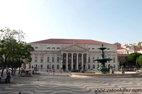 Praça de D. Pedro IV (Pedro IV Square), Lisbon