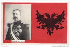 "Princi Wilhelm WIED (1914). Le prince Guillaume de WIED, ""roi"" d'Albanie (mars-septembre 1914). (Only Tradition) Tags: al albania albanien shqiperi shqiperia albanija albanie shqip shqipri shqipria shqipe arnavutluk albani   gjuha          albnija"