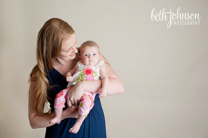 tallahassee studio photography mommy baby session