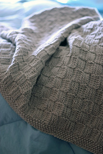Ravelry Lchunt S Basketweave Baby Blanket