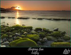 Sleeping Sun (kgorka) Tags: sea sun seascape musgo verde sol canon atardecer mar sigma kata 1020 bizkaia hitech euskadi manfrotto filtro polarizador zierbena lastron eos7d gorkabarreras fadernd