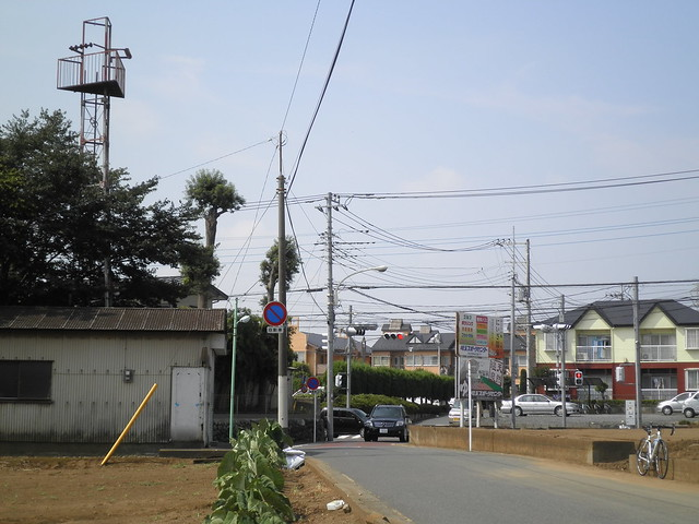 鶴馬の火の見櫓(富士見市)
