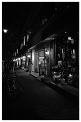 (Delytayan Third) Tags: bw japan night tokyo     sinbashi