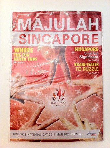 Singapore National Day Mailbox surprise