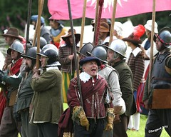 Voice of Authority (day_sargent) Tags: history scotland battle battlefield reenactment selkirk livinghistory warfare scottishborders sealedknot philiphaugh