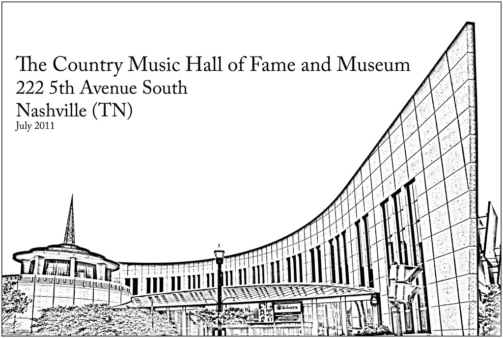 The Country Music Hall of Fame and Museum -- Nashville (TN) July 2011