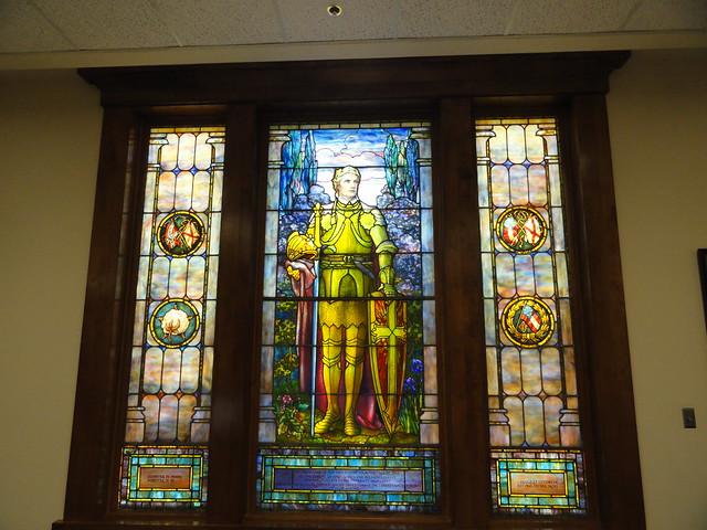 Tiffany Window at UA