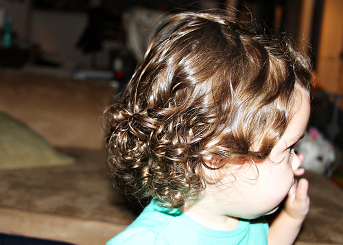 Curly Hairstyle For Toddler : The spohrs are multiplying dealing with toddler curls