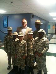 Lt. Governor Darr Visits eStem Charter School