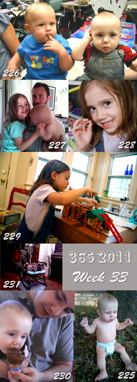 365 2011: Week 33