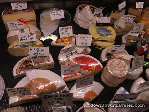 Cheese at Le Marche des Saveurs du Quebec in Montreal
