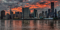 Fire Sky of Midtown Manhattan (1982Chris911 (Thank you 1.250.000 Times)) Tags: newyorkcity sunset urban usa newyork reflection water skyline brooklyn clouds canon mirror us day cityscape unitedstates cloudy manhattan christian midtown queens eastriver newyorkskyline empirestatebuilding empirestate chryslerbuilding hdr highdynamicrange urbanphotography unbuilding trumpworldtower canoneos5d unitednationsgeneralassembly canonphotography manhattannewyork hdrphotography newyorkphotography hdrpictures newyorkcityphotography canoneos5dmarkii canon5dmkii 5dmarkii 5dmark2 eos5dmarkii canoneos5dmark2 eos5dmark2 krieglsteiner 1982chris911 christiankrieglsteiner christiankrieglsteinerphotography