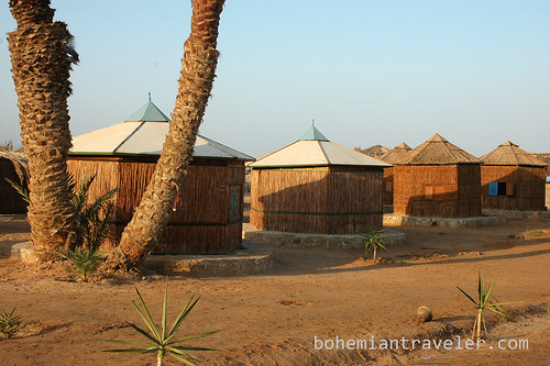 Soft Beach bungalows at Tarabin Sinai