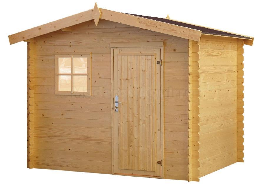 Maderas aguirre llamanos casetas de madera caseta de - Caseta de jardin de madera ...