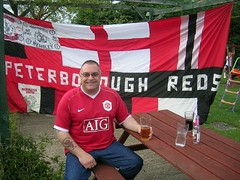 peterborough reds (mufc flags) Tags: red manchester army united away flags fans banners manchesterunited supporters mufc fcum fcunited icj stretfordend mufcflags