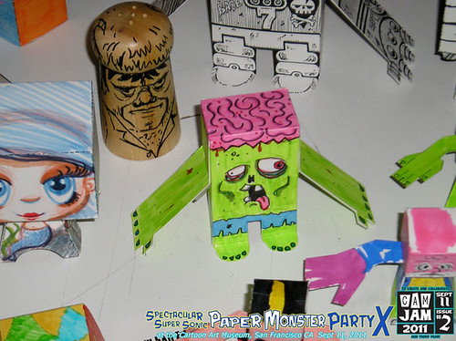 CAM-Jam 2011 #2 : Paper Monster Party (sept 11, 2011)