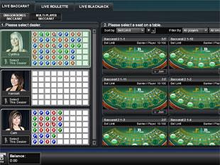 All Slotsl Live Casino Lobby