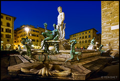 Florence - Fountain of Neptune in Piazza della Signoria (Yen Baet) Tags: city bridge italy sculpture art monument fountain statue architecture photography photo florence italian ancient europe italia landmark icon medieval tuscany figure firenze neptune iconic renaissance nationalmuseum reproduction medici pontevecchio piazzadellasignoria florentine mythical palazzovecchio ancientart palazzopitti arnoriver oldbridge piazzalemichelangelo cpoy benvenutocellini fountainofneptune piazzasignora