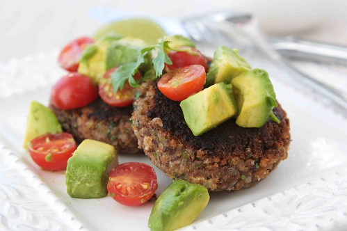 Black Bean Patties LS