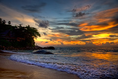 Karon Beach Sunset (dazza17 - DJ) Tags: png