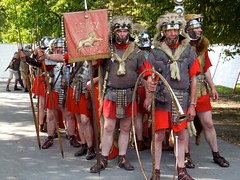 The Romans in Trier! (picaddict) Tags: germany und brot trier spiele kaiserthermen brotundspiele romer legionare