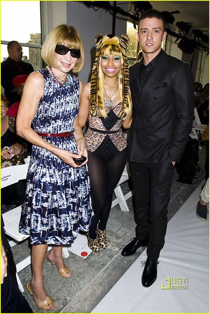Anna Wintour, Nicki Minaj, Justin Timberlake