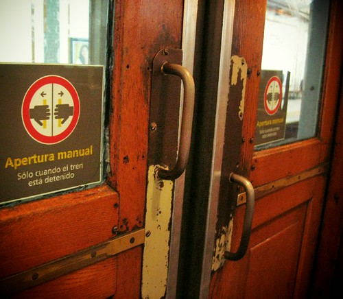 Wooden Subway Doors