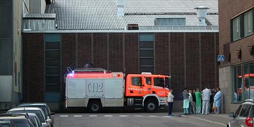 Paloauto Diakonissalaitoksella