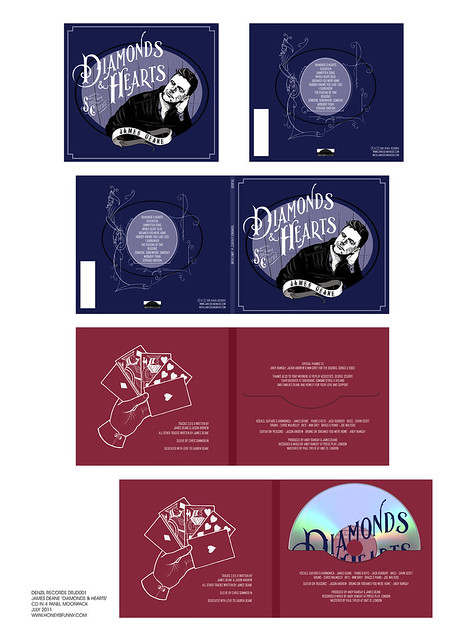 "JAMES DEANE ""DIAMONDS & HEARTS"" CD MOONPACK"