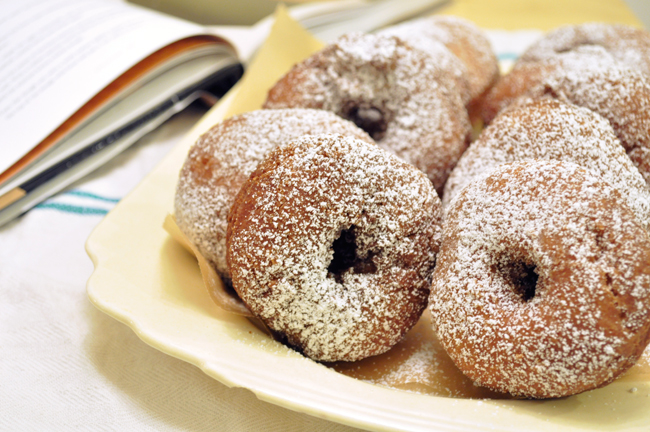 homemade donuts