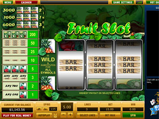 Fruit Slot 3 Lines slot game online review