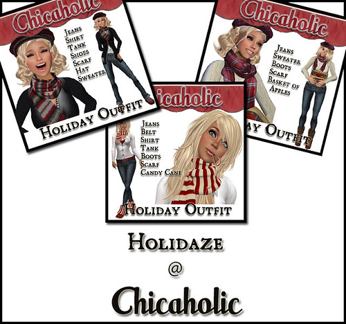Chicaholic Holidaze - Great Outfits by Shabby Chics