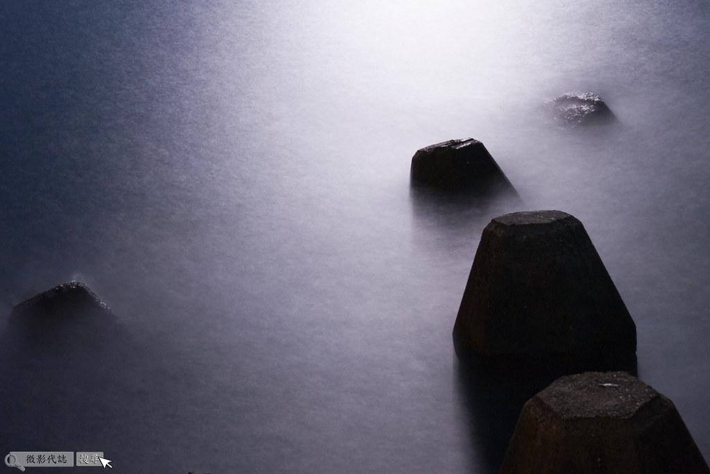 烏石港堤防夜拍 026