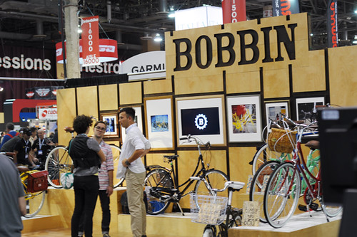 Bobbin Bicycles Booth