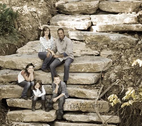 Deena, Matt & kids