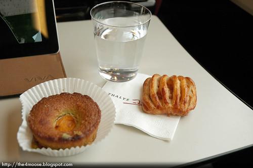 Thalys 9323 - Complimentary Snacks