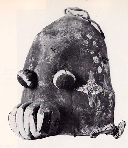 Kachina Mask from the Tewa village of Hano